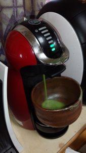 ネスカフェドルチェグストで淹れる抹茶